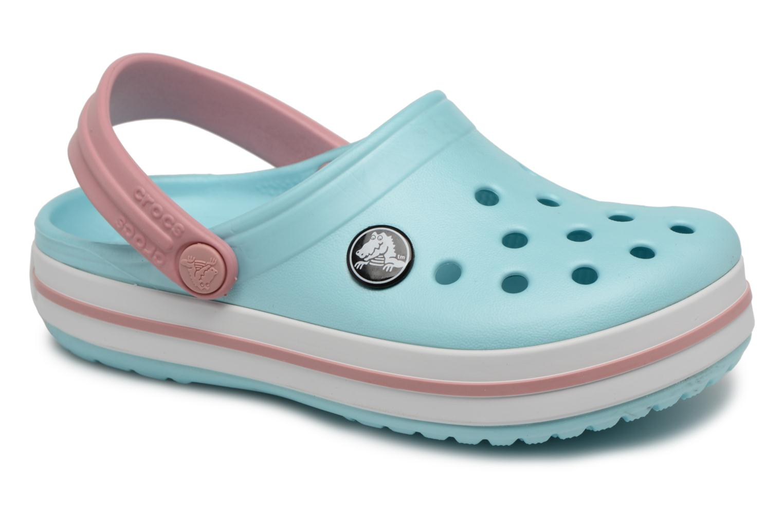 Sandaler Crocs Crocband kids Blå detaljerad bild på paret