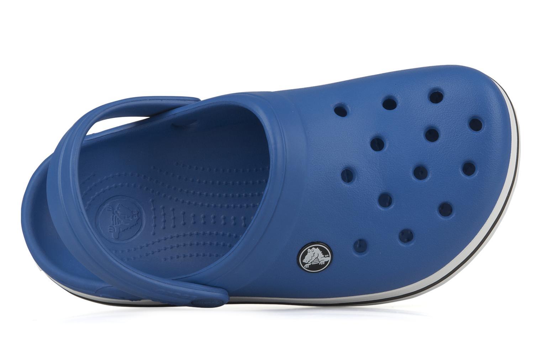 Sandalen Crocs Crocband kids blau ansicht von links