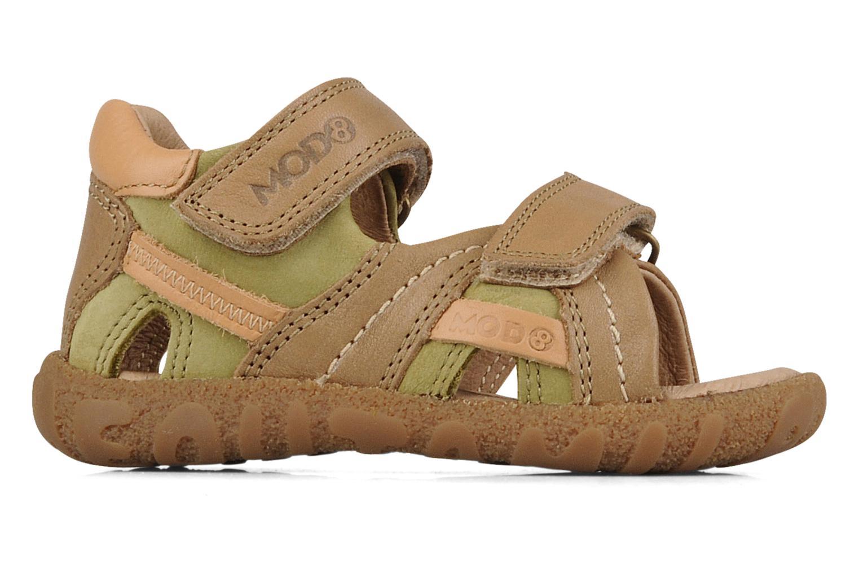 Sandales et nu-pieds Mod8 Batofar Beige vue derrière