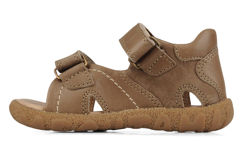 Sandales et nu-pieds Mod8 Batofar Marron vue face