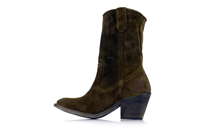 Boots en enkellaarsjes IKKS Gabriella Bruin voorkant