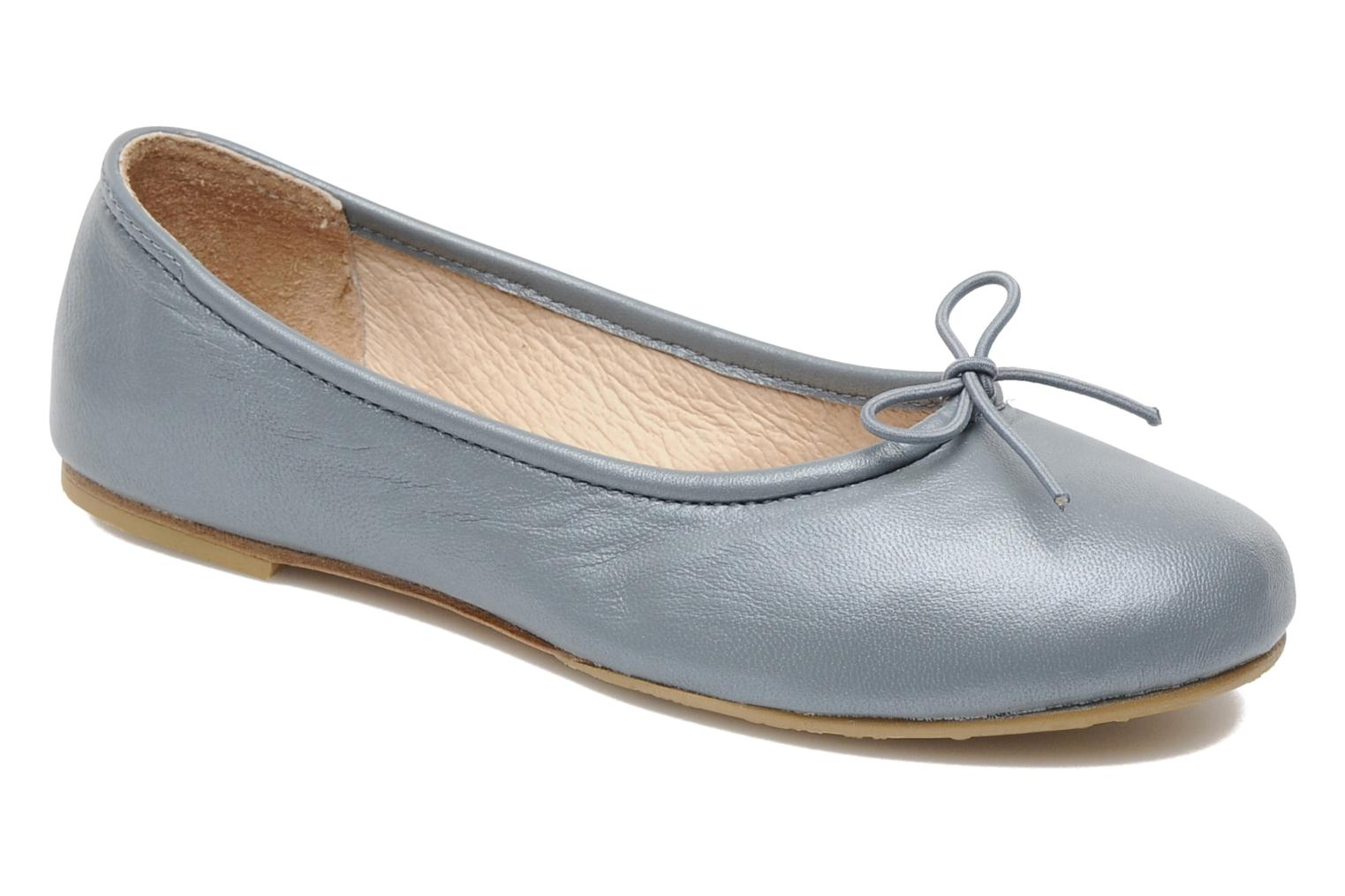 Ballet pumps Bloch Arabella Grey detailed view/ Pair view