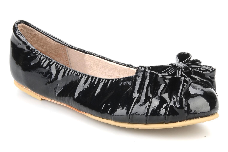 Ballerinaer Bloch Girls tula Sort detaljeret billede af skoene