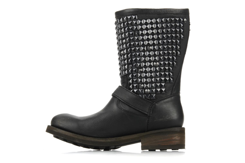 Bottines et boots Ash Trash bis Noir vue face