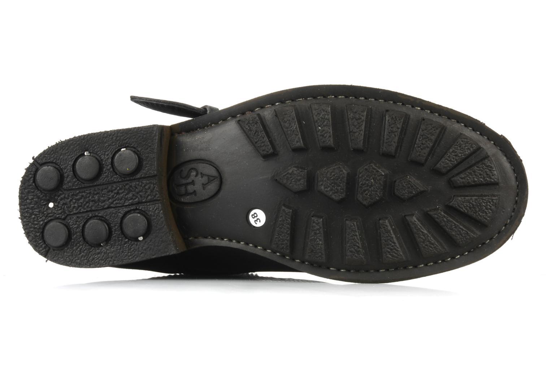 Bottines et boots Ash Trash bis Noir vue haut