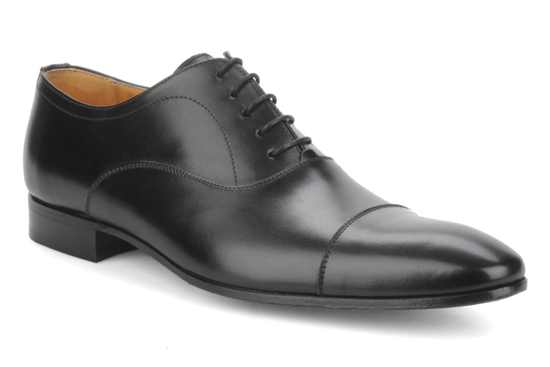 Schnürschuhe Finsbury Whitney schwarz detaillierte ansicht/modell