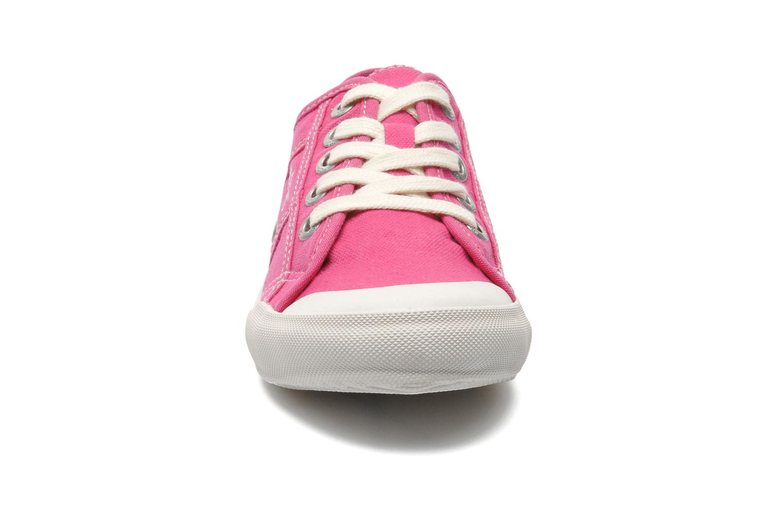 Baskets TBS Opiace Rose vue portées chaussures