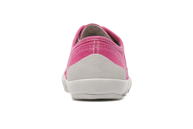 Sneaker TBS Opiace rosa ansicht von rechts