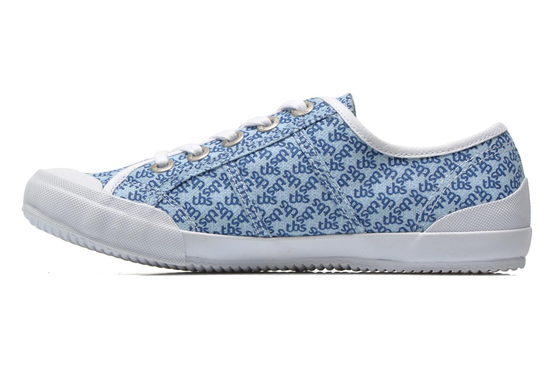 Sneakers TBS Opiace Blauw voorkant