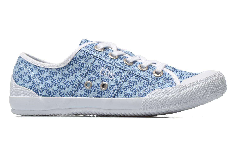 Sneakers TBS Opiace Blauw achterkant