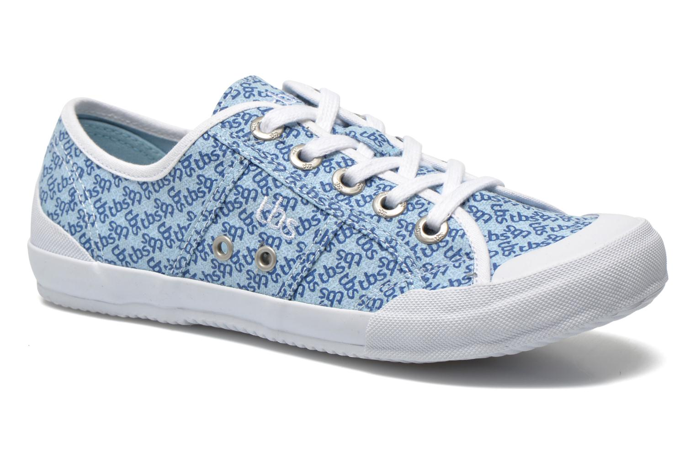 Sneakers TBS Opiace Blauw detail