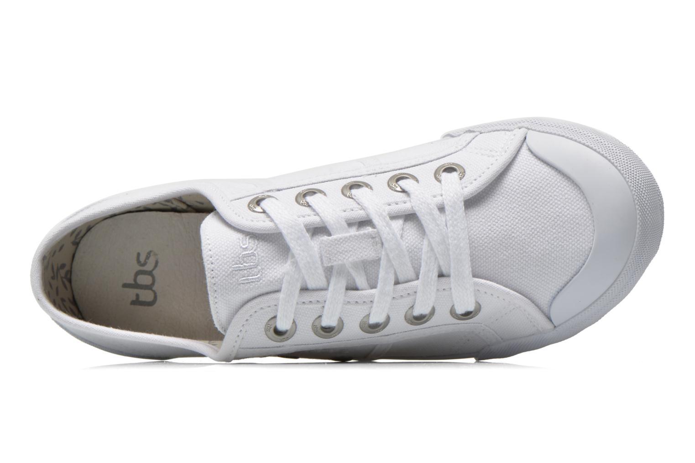 Sneakers TBS Opiace Wit links