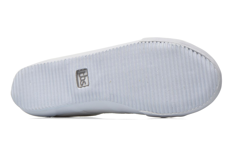 Sneakers TBS Opiace Bianco immagine dall'alto