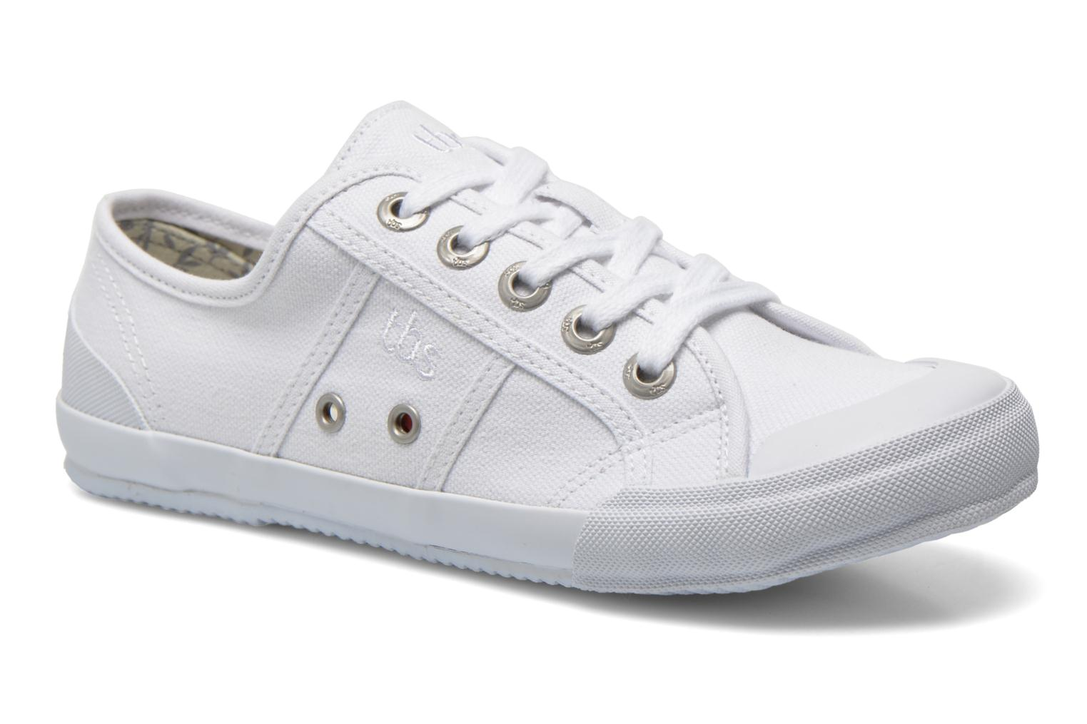 Sneakers TBS Opiace Wit detail
