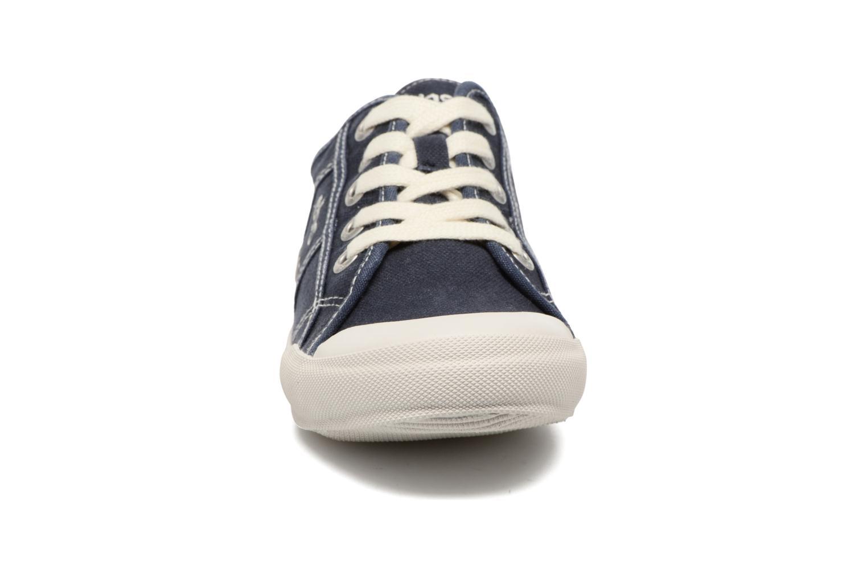 Baskets TBS Opiace Bleu vue portées chaussures