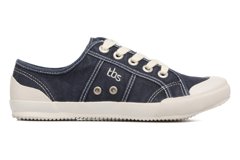 Sneakers TBS Opiace Azzurro immagine posteriore