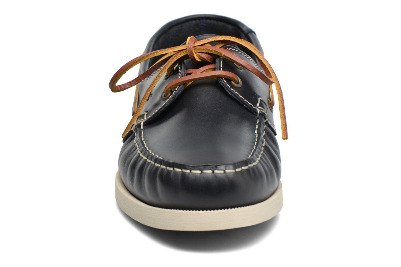 Scarpe con lacci TBS Phenis Azzurro modello indossato