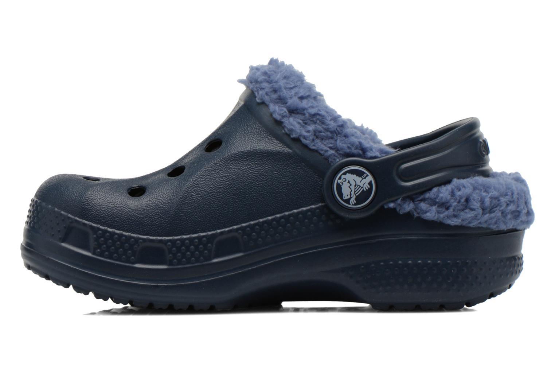 Sandalen Crocs Baya Lined Kids blau ansicht von vorne