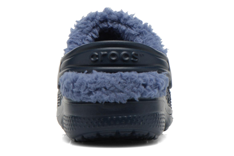 Sandales et nu-pieds Crocs Baya Lined Kids Bleu vue droite