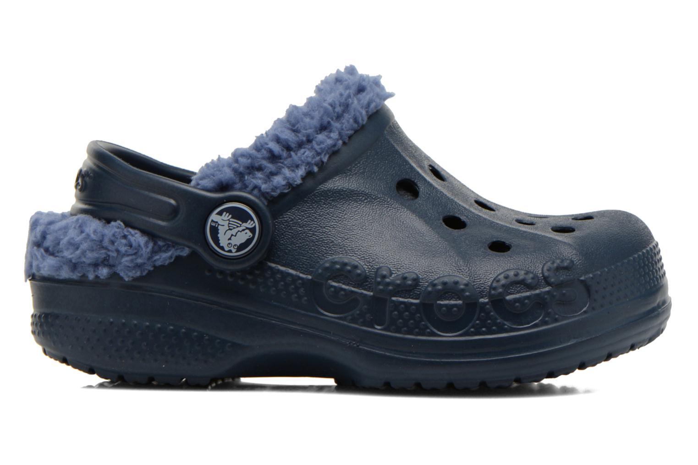 Sandales et nu-pieds Crocs Baya Lined Kids Bleu vue derrière