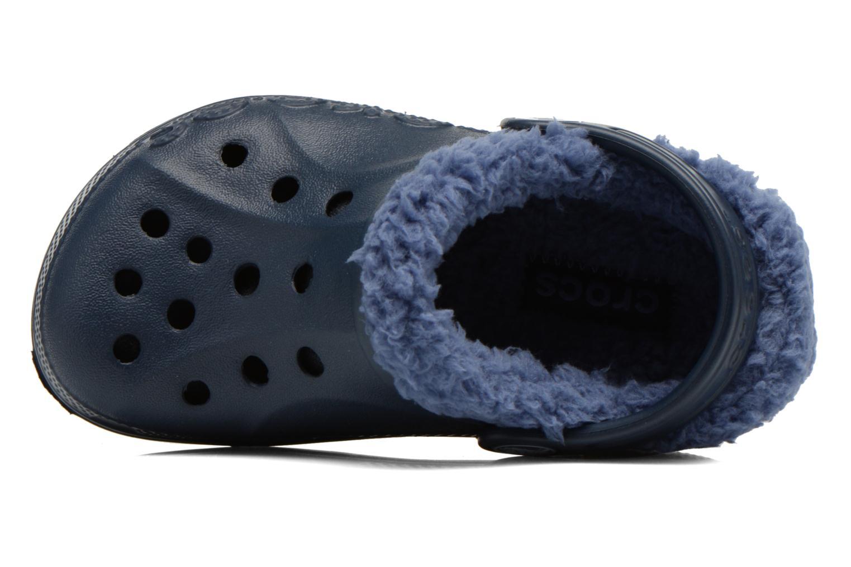Sandales et nu-pieds Crocs Baya Lined Kids Bleu vue gauche