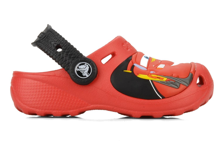 Sandalen Crocs Cars 2 Custom Clog rot ansicht von hinten