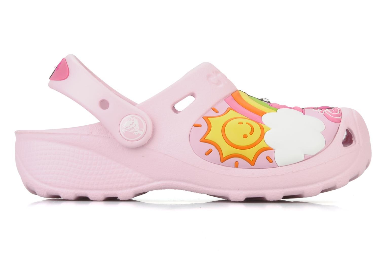 Sandalen Crocs Hello Kitty Fun Rain Or Sun rosa ansicht von hinten