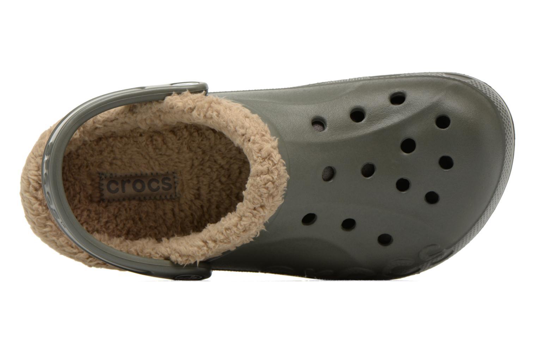 Wedges Crocs Baya lined w Groen links