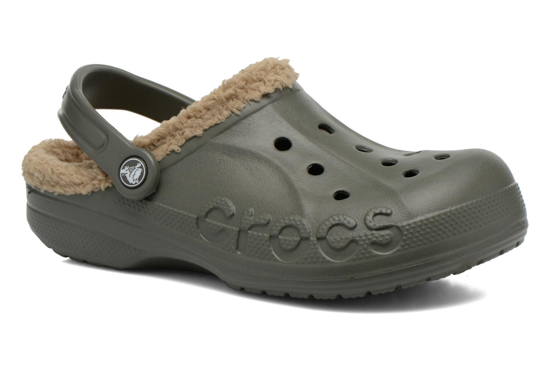 Wedges Crocs Baya lined w Groen detail