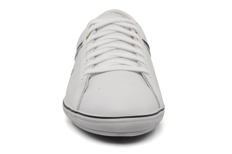Baskets Lacoste Cairon m Blanc vue portées chaussures