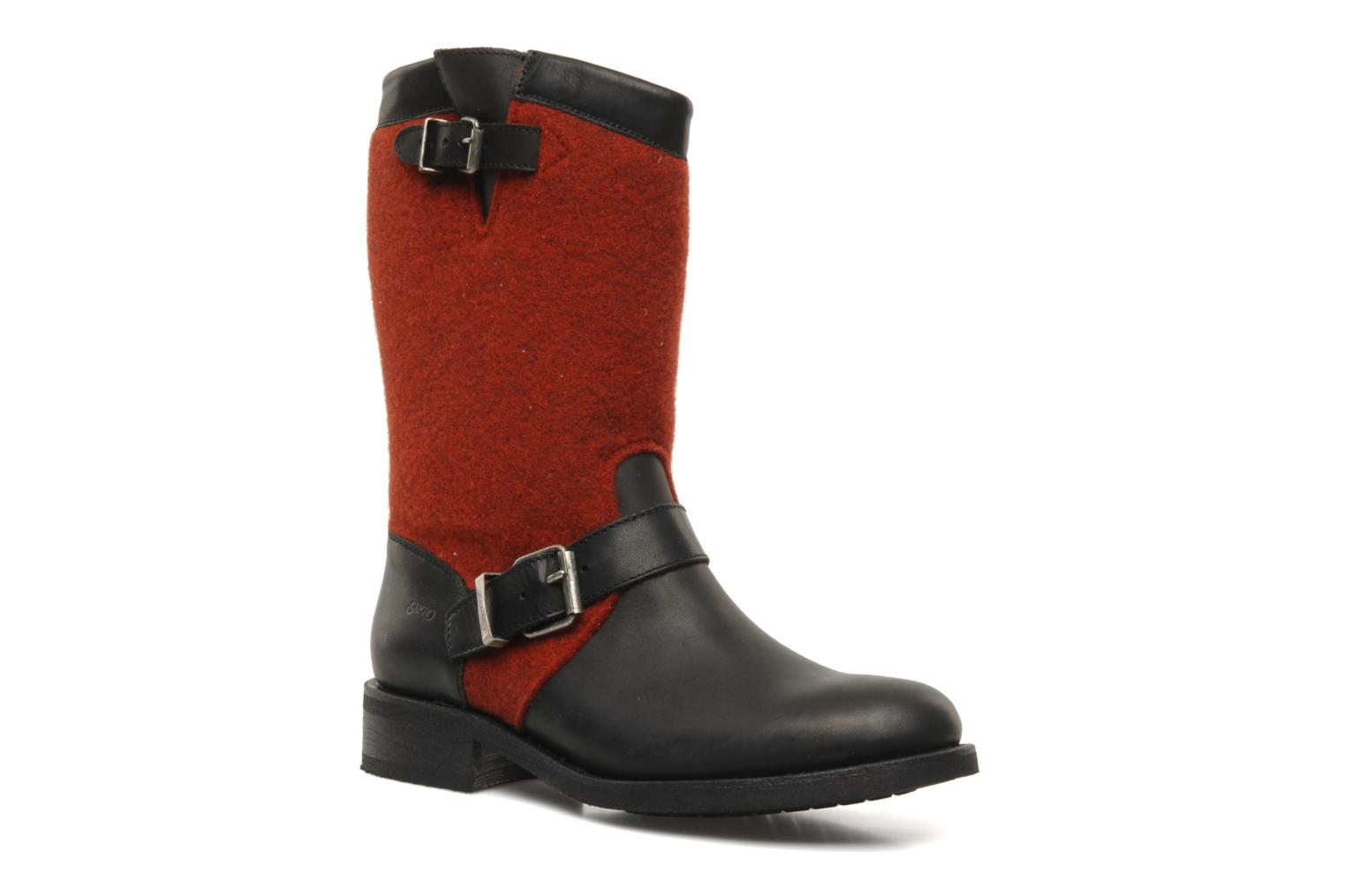 Ankle boots Sancho Boots Yogi Red detailed view/ Pair view