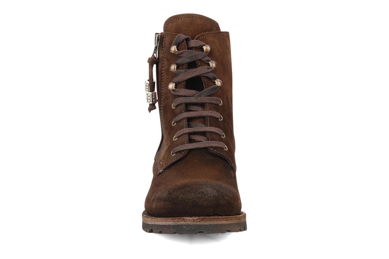 Bottines et boots Sancho Boots Randy Marron vue portées chaussures