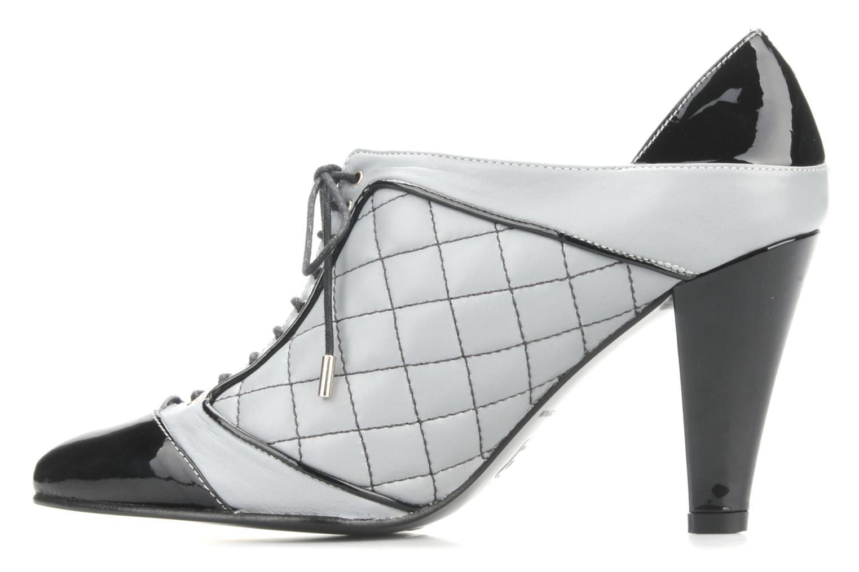 Chaussures à lacets Charlotte Vanel Casino Gris vue face