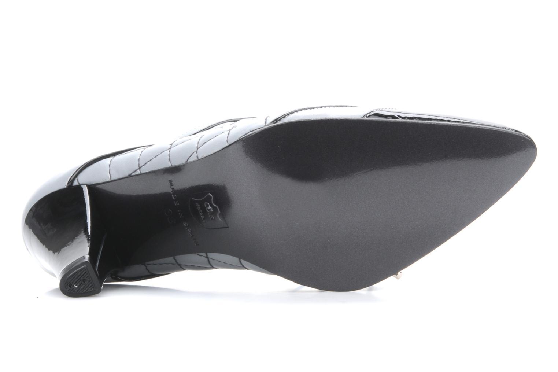 Chaussures à lacets Charlotte Vanel Casino Gris vue haut