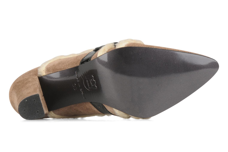 Chaussures à lacets Charlotte Vanel Dandy Marron vue haut