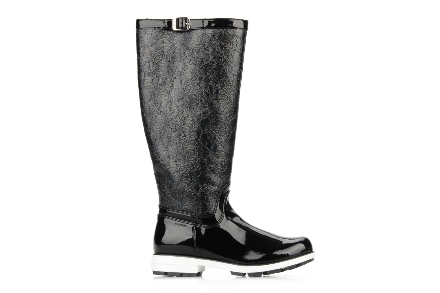 Boots & wellies Geox D dina st c Black back view