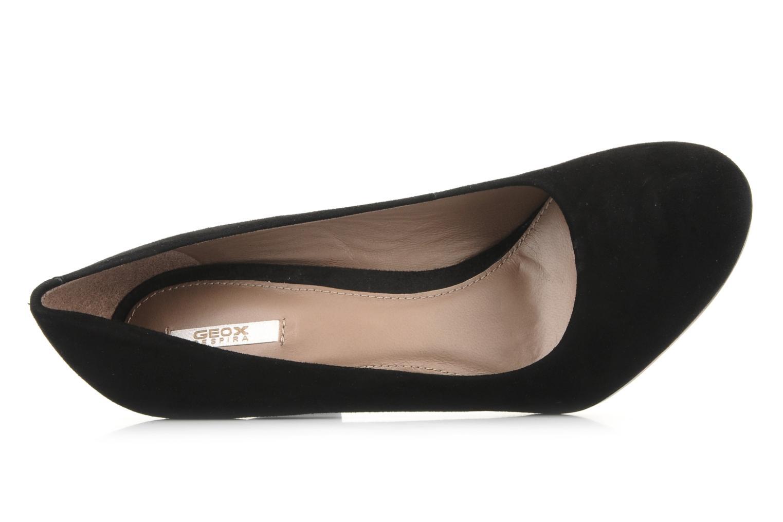 Zapatos de tacón Geox D marian j Negro vista lateral izquierda