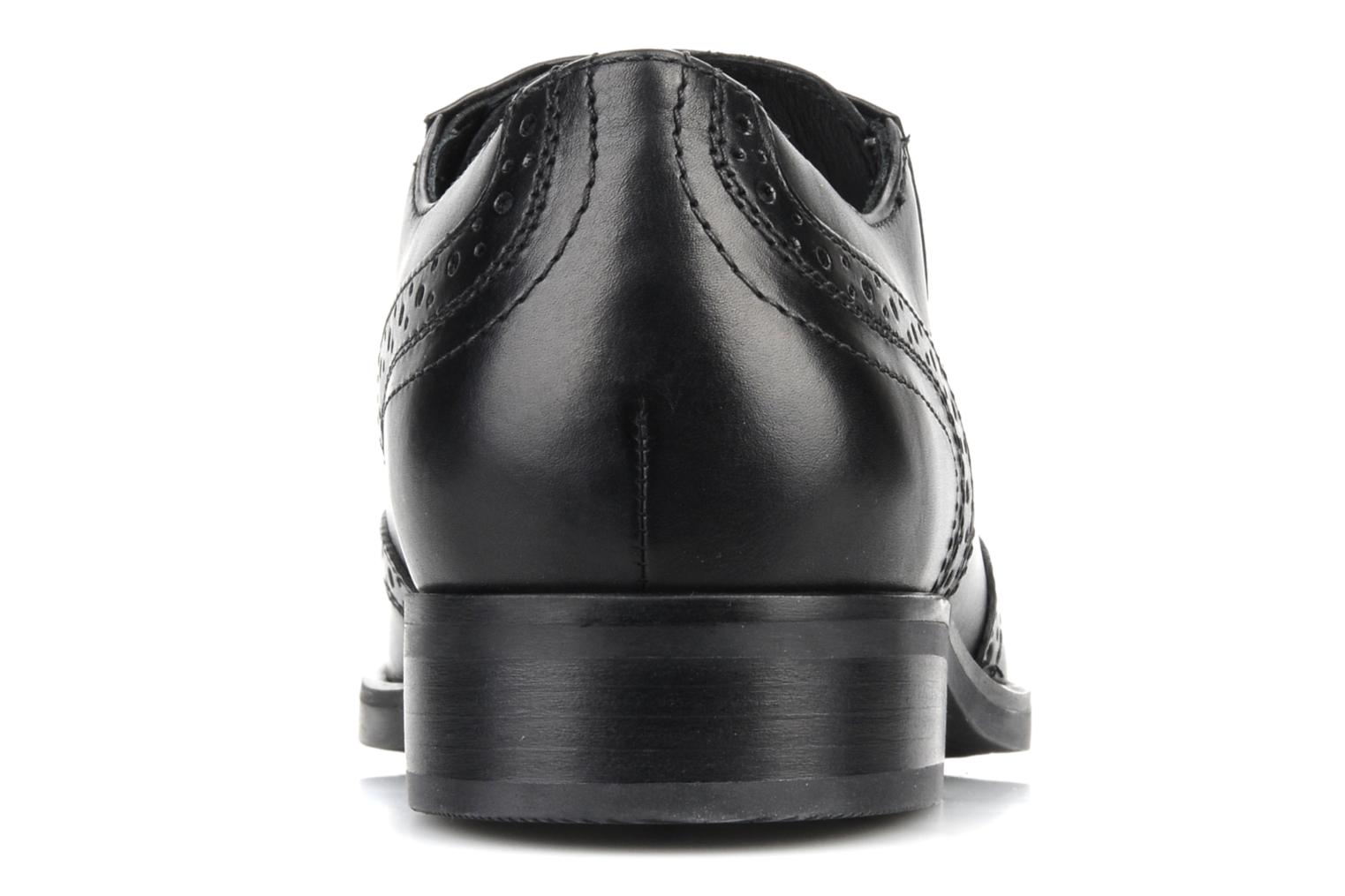 Lace-up shoes Geox U brooklyn k Black view from the right
