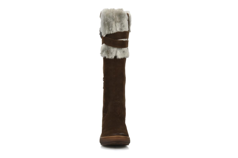 Stiefel Geox D vanillest a braun schuhe getragen