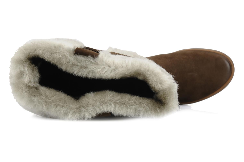 Stiefel Geox D vanillest a braun ansicht von links