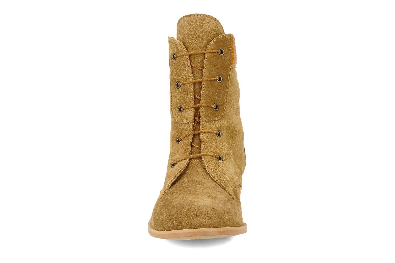 Bottines et boots Le Mont St Michel Lakewood Marron vue portées chaussures
