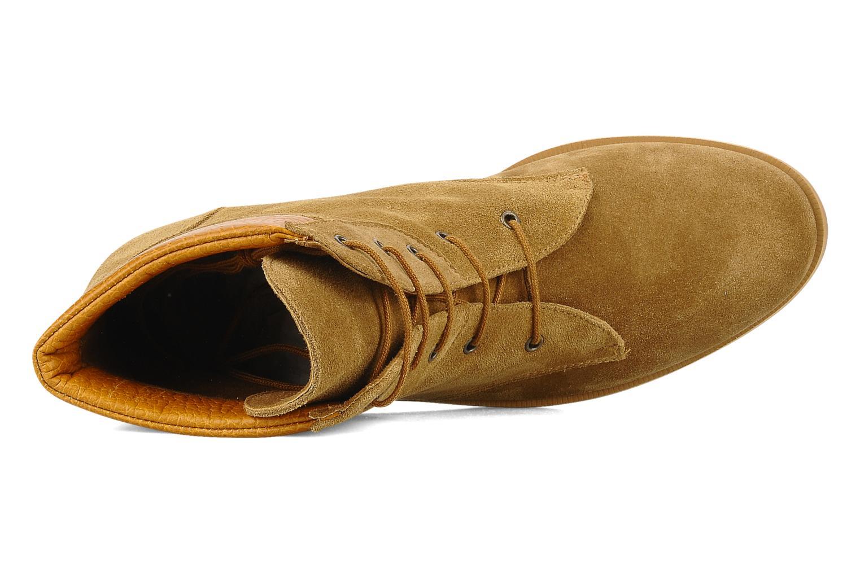 Stiefeletten & Boots Le Mont St Michel Lakewood braun ansicht von links