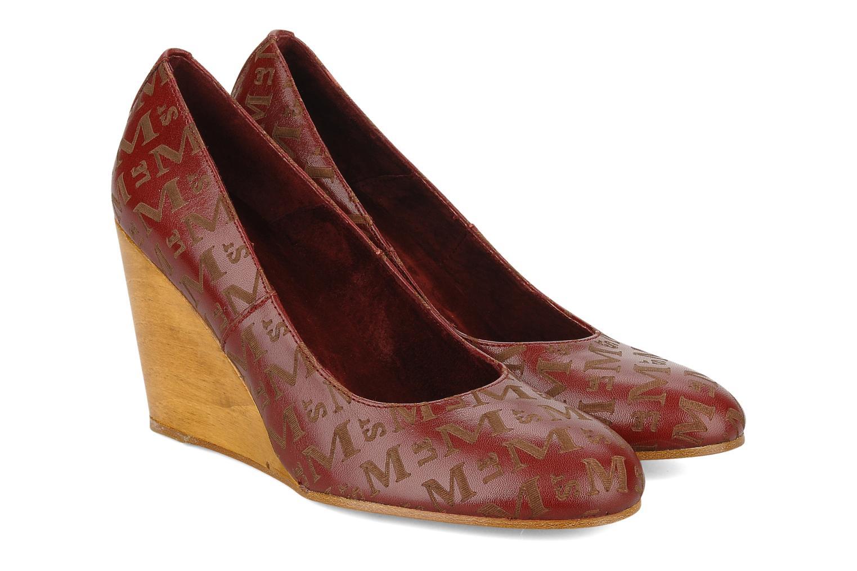 Zapatos de tacón Le Mont St Michel Ponoma Vino vista 3/4