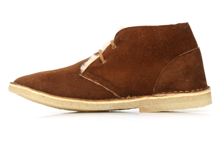 Chaussures à lacets U.S Polo Assn. Aileen Marron vue face