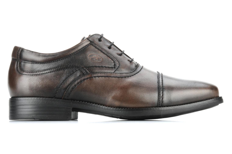 Lace-up shoes Fluchos Rafael 7749 Brown back view