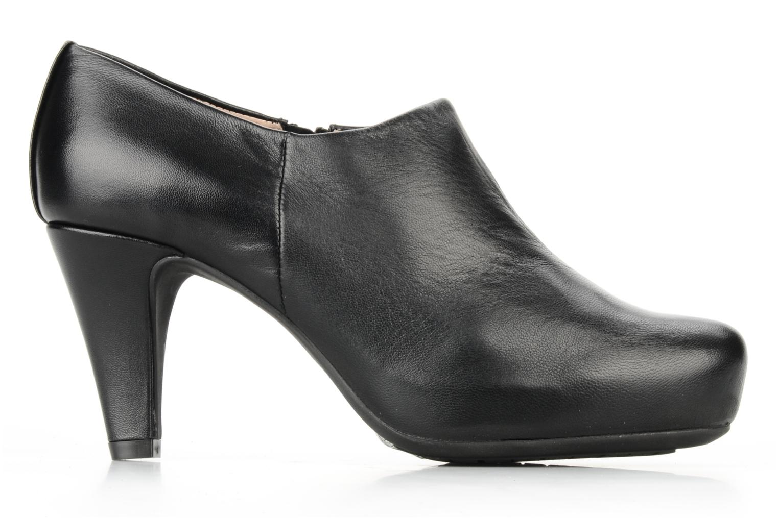 Ankle boots Unisa Nenet Black back view