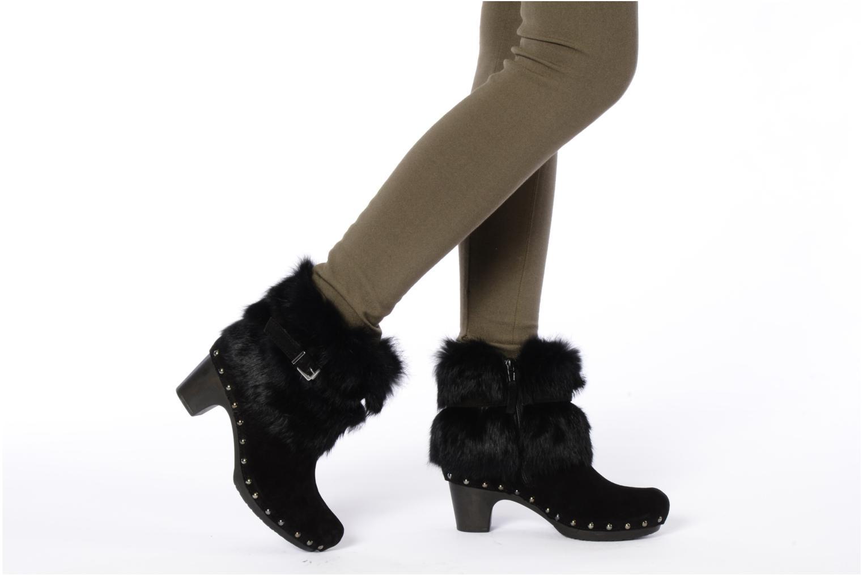 Bottines et boots Tosca Blu Shoes Ragusa Noir vue bas / vue portée sac