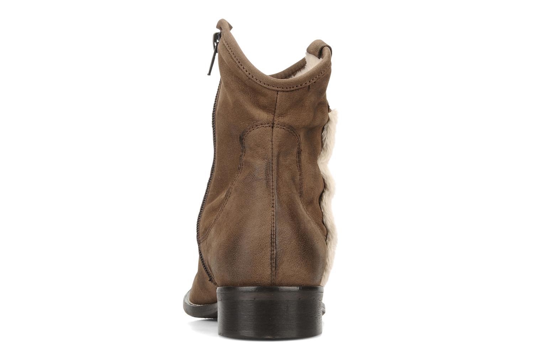 Stivaletti e tronchetti Tosca Blu Shoes Cefalu Marrone immagine destra