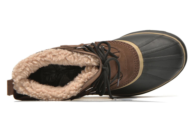 Sportschoenen Sorel Caribou Bruin links