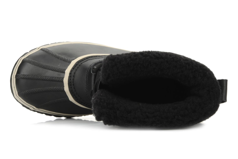 Sportschuhe Sorel 1964 pac nylon schwarz ansicht von links
